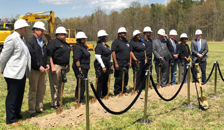 Browder's Towing Groundbreaking Ceremony